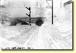The Tunnels: This view is of the Gallitzin & Allegheny Tunnels in the early 1900s in the midst of a snowstorm.