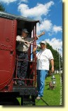 Museum Docents: Docents (museum volunteers) are knowledgeable in local and railroad history; some of them were railroad employees at one time.